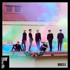 Monsta X 4th Japan Single 'Livin It Up'
