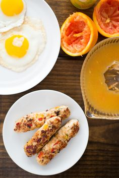 Recipe: Mango Chicken Breakfast Sausage — Mother's Day Brunch Recipes from Heather Christo #recipes #food #kitchen