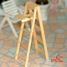 Diy mini furniture doll furniture doll house diy accessories diy furniture folding ladder-inFurniture Toys from Toys & Hobbies on Aliexpress...
