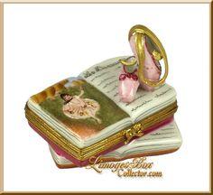 Ballet Book Degas Painting Ballet Shoes - Collector's Piece