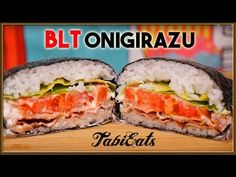 Love BLT Sandwiches? How about Japanese Onigiri (rice balls)? We've come up with a way to combine those two favorites! Introducing the BLT Onigirazu! Subscri...