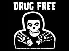 PUNK TShirt Straight Edge Drug Free Horror Movie Emo Skull Mens Womens Kids Tee (also available on crewneck sweatshirts and hoodies) Straight Edge Tattoo, Free Horror Movies, Punk Poster, Anti Smoking, Cm Punk, Drug Free, T Shirts With Sayings, Skull Art, Graphic Shirts