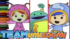 Team Umizoomi Coloring Page Eposide 13 - Milli, Geo and Bot Coloring Book