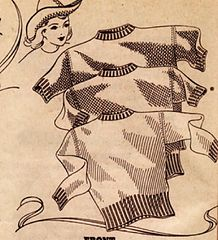 """free 1940's wartime knitting pattern sweater th lux knitting book 1942 32"""" 36"""" and 40"""" bust"""