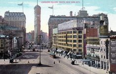 What Time Square (Longacre Square) Looked Like in 1911
