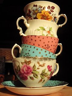 Tower of Tea Cups.
