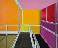 """Saatchi Art Artist Cécile van Hanja; Painting, """"Colorfields"""" #art"""