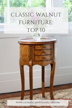 Looking for Classic Walnut Furniture? Read on to discover our Top 10 Classic Walnut Furniture items! Walnut Bedroom Furniture, Mahogany Furniture, Barrel Furniture, My Furniture, Furniture Online, Dining Room Furniture, Classic Furniture, Table And Chairs, Dining Chairs
