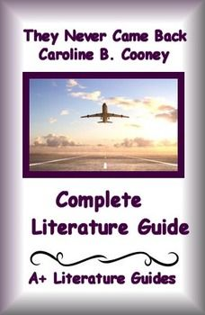 This is a 74 page Complete Literature Guide/Novel Study Unit and Assessment Pack for They Never Came Back by Caroline B. Cooney. Put away boring test prep, and teach the five core areas - reading informational, reading literature, writing, speaking and listening, and language - using this literature guide and a book that students will love!