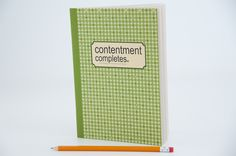 contentment completes. not money. not power. not fame. #journal #life #livewell