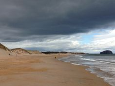 Time for a stroll! Beach East Lothian, Scotland at its best