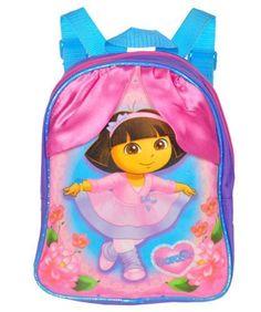 Nickelodeon Dora Ballerina Mini Backpack (Purple) Nickelodeon. $7.99. Save 43%!