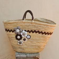 Resultado de imagen de capazos decorados con crochet