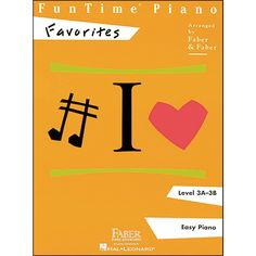Faber Piano Adventures Funtime Piano Favorites Book Level 3A-3B Easy P