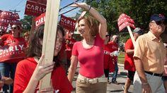 Carly Fiorina, on the rise