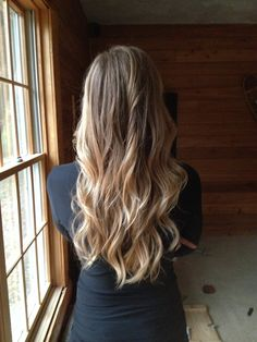 Long Blonde Ombre Hair!