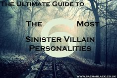 Some villains are just plain nuts, right? Wrong. On a serious note, whether its done consciously or not, I think there are some illnesses and mental disorders that often sit behind some of the grea...