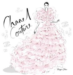 """nature-and-culture:  """"Chanel Couture by Megan Hesse, via meganhesse_official  """""""