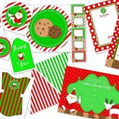 Cookie Exchange Party Package {Free Printables}