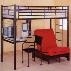Home Loft Bed Frame Loft Bunk Beds Bunk Bed With Desk