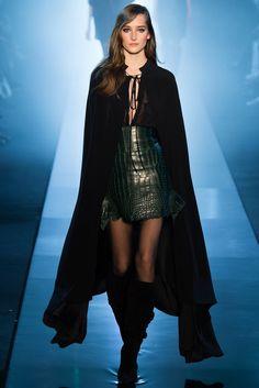 Alexandre Vauthier Spring 2015 Couture - Model: Josephine Le Tutour (Elite)