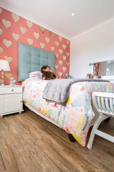 Project – Supreme House OL | Finfloor Laminate Flooring, Home Projects, Toddler Bed, House, Furniture, Home Decor, Floating Floor, Room Decor, Haus