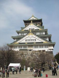OSAKA JO (OSAKA castle) - I really hope I can visit Osaka Jo again someday...