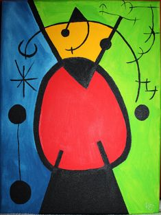 Kunstunterricht Grundschule Proyecto Joan Miro Comics and cartoons Joan Miro Paintings, Paintings Famous, Joan Miro Pinturas, Famous Abstract Artists, Time Painting, Principles Of Art, Paul Klee, Spanish Artists, Mondrian