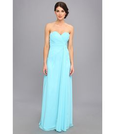 Make every moment memorable in this matchless Faviana™ gown.. Sophisticated poly chiffon gown flau...