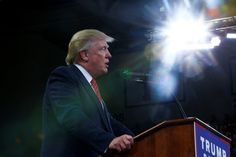 The GOP nominee made his comment at a rally in North Carolina.