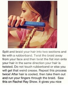 Fast and easy way to curl your hair!!