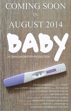Baby announcement, very cool.   BabyBump - the app for pregnancy - babybumpapp.com