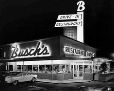 1950s Drive-in Restaurant