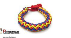 3 color hansen knot bracelet tutorial.