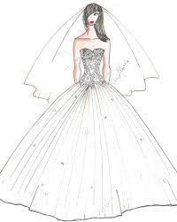 Resultado de imagen de diseños de vestidos de fiesta dibujos