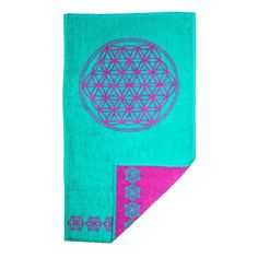 Flower of Life Turquoise and Magenta Bath Towel Bathroom Decor Luxury Towel Yoga gift Bath Sheets Best Bath Towels, Hand Towels Bathroom, Bathroom Art, Turquoise Bathroom Accessories, Hipster Gifts, Meditation Cushion, Luxury Towels, Yoga Gifts, Flower Of Life