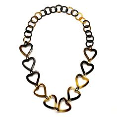QueCraft Horn Chain Necklace - Q4353