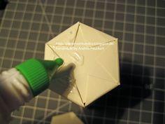 PapierWerk & Co.: Anleitung für die Sechseckbox/ Tutorial Hexagon Box