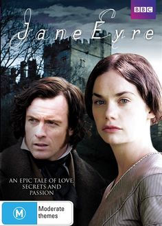 Australian DVD Cover - Jane Eyre directed by Susanna White (TV Mini-Series, BBC, 2006) #charlottebronte
