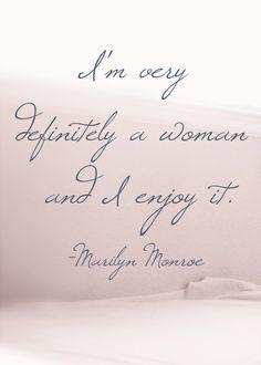♔ I'm very definitely a woman and I enjoy it.
