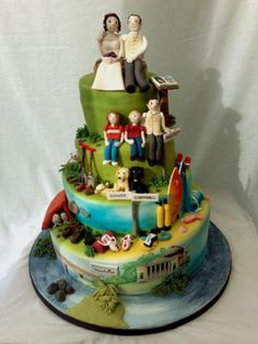 Unusual Wedding Cakes - Have Your Cake and Eat It Too!