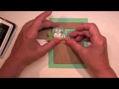 Lil Hoot Peekaboo Card - YouTube