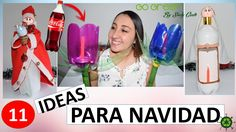 faroles para navidad con botellas de plástico