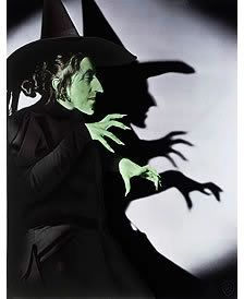 Wicked Witch of the West from The Wizard of Oz