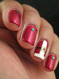 Fairly Charming christmas #nail #nails #nailart