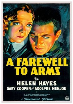 Fantastic A4 Glossy Print - 'A Farewell To Arms' (1932) - Taken From A Rare Vintage Movie / Film Poster (Vintage Movie / Film Posters) by Unknown http://www.amazon.co.uk/dp/B005RR97P0/ref=cm_sw_r_pi_dp_I.Htvb1792J7K