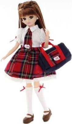 Licca Chan: LD-07 Licca Chan Uniform Doll