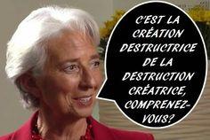 Uma estranha e gigantesca ave sobre Barcelona: A filosofia de madame Lagarde