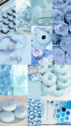 Aesthetic Pastel Blue | Blue Aesthetic Pastel, Iphone