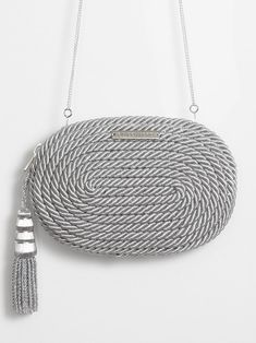 Antonia Handbag · Metallic Silver